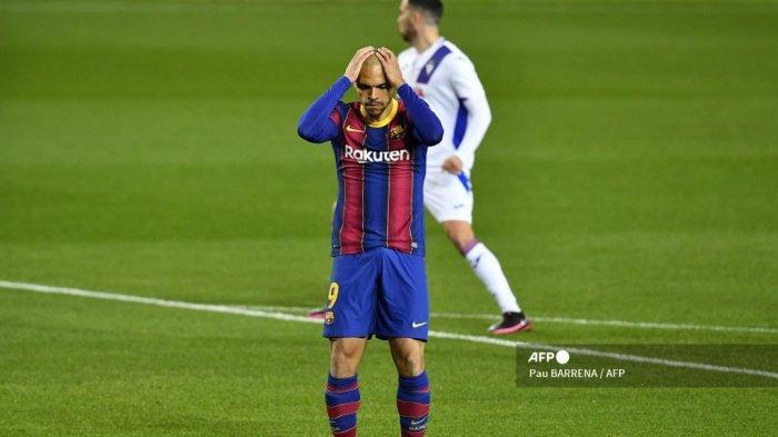 Diwarnai Braithwaite Gagal Penalti & Gol Dianulir Skor 0-0 HASIL Babak Pertama Barcelona vs Eibar