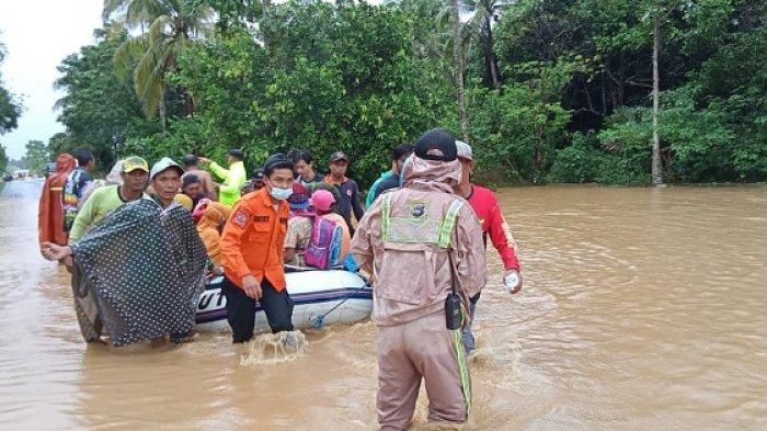 1.801 Warga Mengungsi Akibat Banjir di Halmahera Utara BNPB