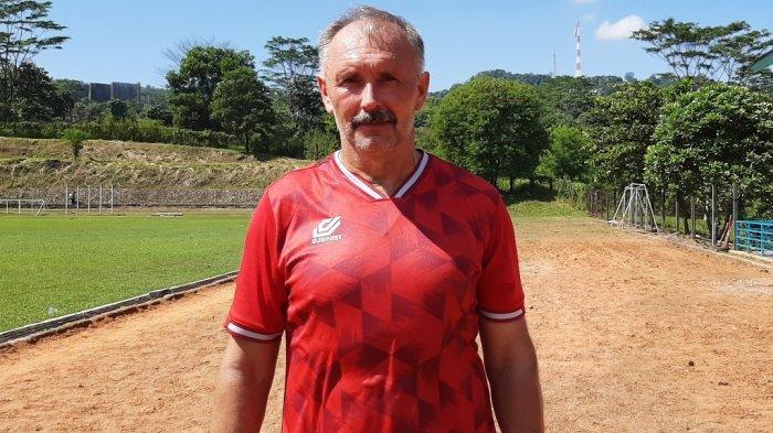 Persikabo 1973 Sudah Evaluasi Kekalahan dari Timnas Indonesia U-23 kata Igor Nikolayevich Kriushenko