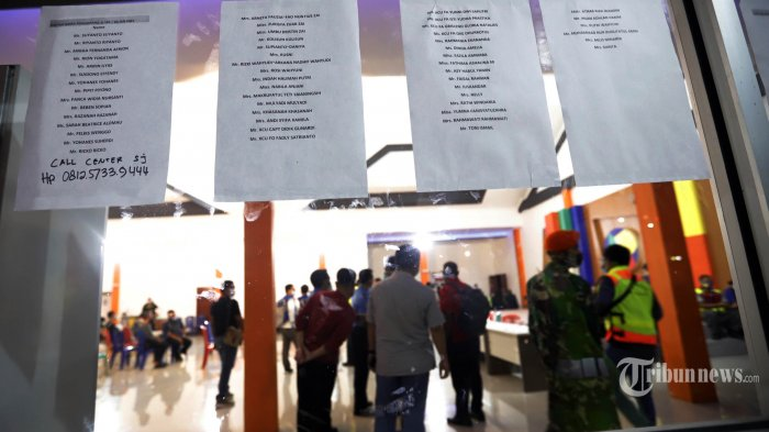 Berikut Nama-namanya 58 Korban Pesawat Sriwijaya Air SJ-182 Berhasil Diidentifikasi Tim DVI Polri