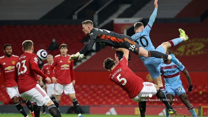 HASIL Liga Inggris Manchester United vs West Ham – Skor Kaca Mata Hiasi Babak Pertama