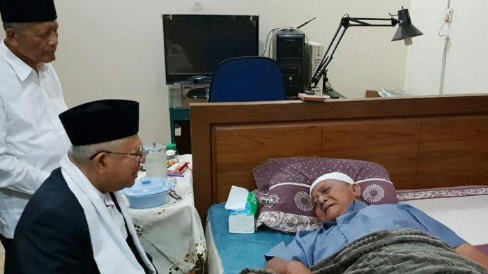 Mertua Anas Urbaningrum Ucapan Belasungkawa Ma'ruf Amin Atas Wafatnya KH Atabik Ali