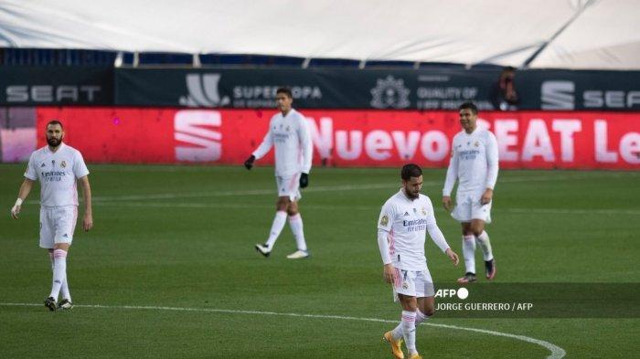 Tanggapan Zinedine Zidane Usai Real Madrid Disingkirkan Athletic Bilbao Hasil Piala Super Spanyol